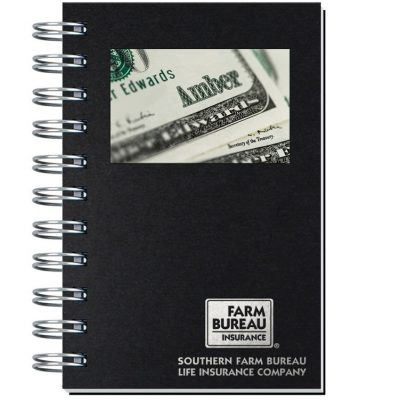"""Personalized Image Shadowbox Journals w/100 Sheets (4""""x6"""")"""