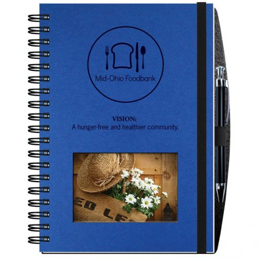"""Personalized Image Shadowbox Journals w/100 Sheets (7""""x10"""")"""