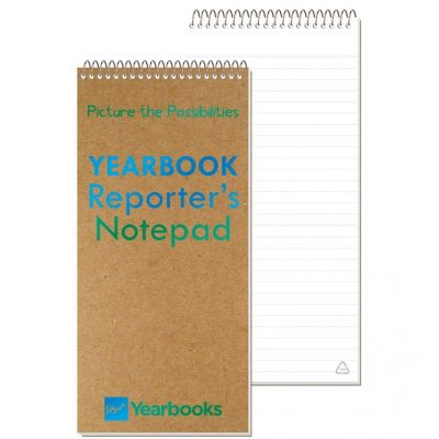 "Recycled Reporter Notebook (4""x8 1/4"")"
