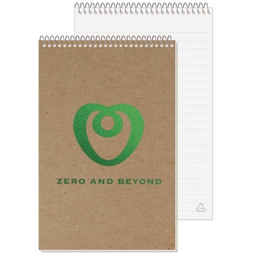 "Recycled Stenographer Notebook (5 3/8""x8 1/4"")"