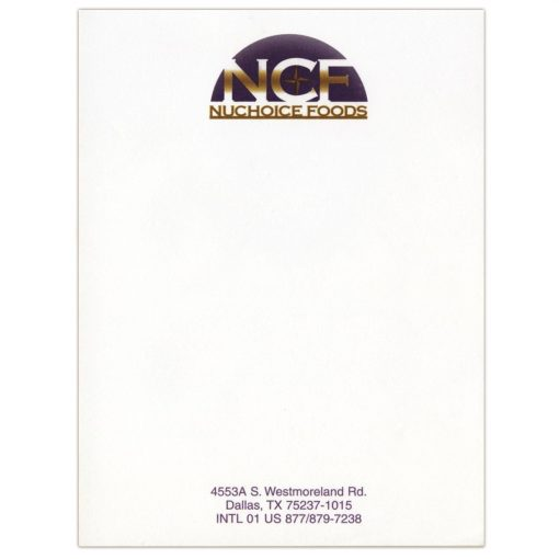 "Scratch Pad w/ 100 Sheets (4 1/8""x5 3/8"")"