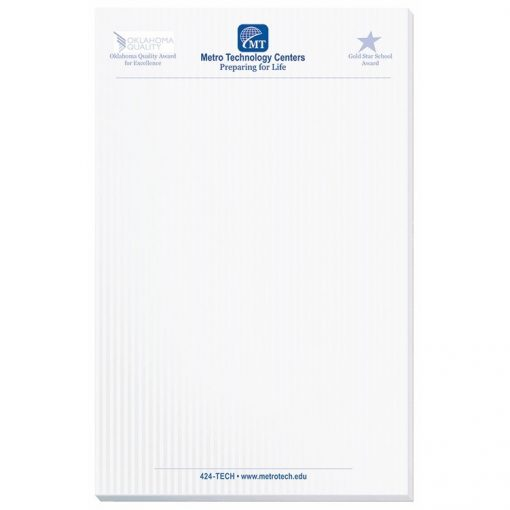 "Scratch Pad w/ 25 Sheets (5 3/8""x8 3/8"")"