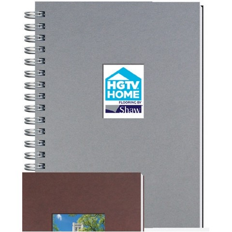 """Shadowbox Smooth Paperboard Journals w/100 Sheets & Pen (7""""x10"""")"""