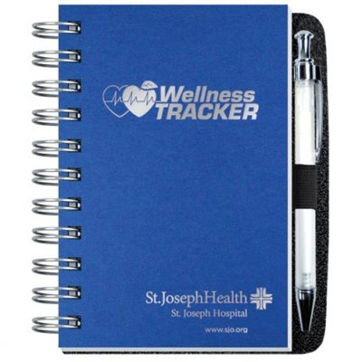 "Wellness Journals w/Pen & 100 Sheets (4""x6"")"