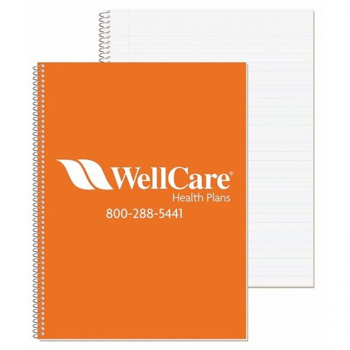 """Wide Ruled Composition Notebook w/1 Color (8 1/2""""x10 1/2"""")"""