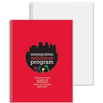 "Wide Ruled Composition Notebooks (8 1/2""x10 1/2"")"