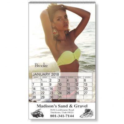 Centerfold Pictorial Calendar