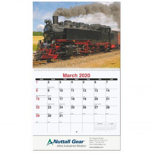 Magnificent Train Pictorial Calendar