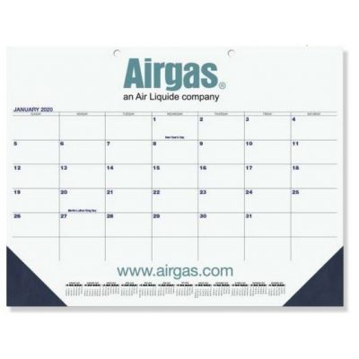 "Patriotic Calendar Desk Pads (21 3/4"" x 17"") Two Color Imprint"