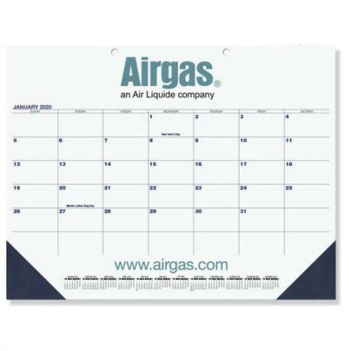 """Patriotic Calendar Desk Pads (21 3/4"""" x 17"""") Two Color Imprint"""