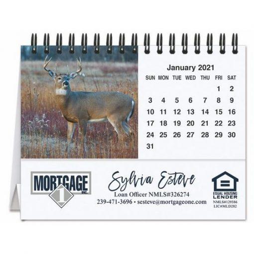 "American Wildlife Tent Desk Calendar (5 13/16"" x 4 1/2"")"