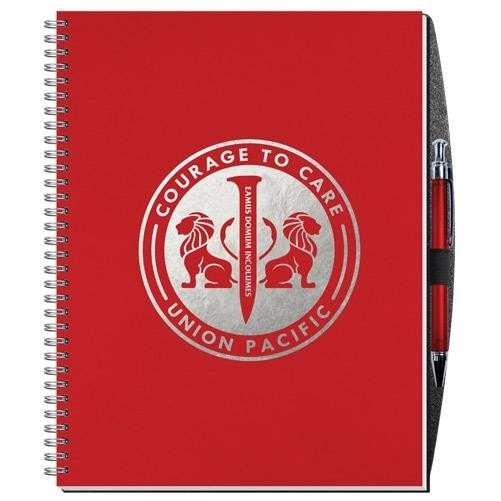 "Best Selling Journals w/50 Sheets & Pen (8 1/2"" x 11"")"