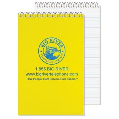 "Econo Poly Cover Stenographer Notebook (5 3/8"" x 8 1/4"")"
