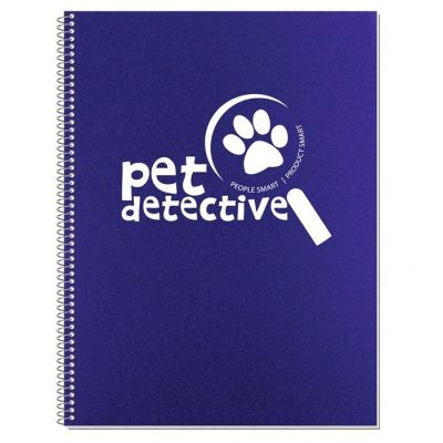 "Econo Poly Cover Stenographer Notebook (8 3/16"" x 10 7/8"")"