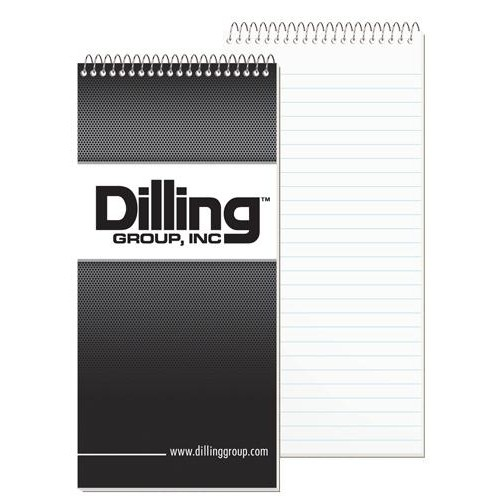 "Econo Reporter Notebook w/1 Color (4"" x 8 1/4"")"