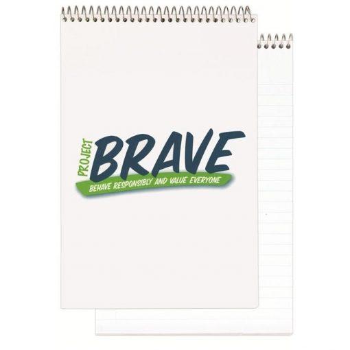 "Econo Stenographer Notebook w/1 Color (5 3/8"" x 8 1/4"")"
