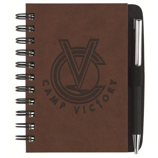 "Executive Journals w/100 Sheets & Pen (4"" x 6"")"