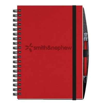 "Executive Journals w/100 Sheets & Pen (7"" x 10"")"