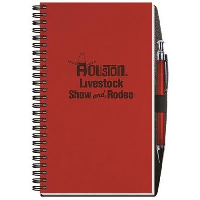 "Executive Journals w/50 Sheets & Pen (5 1/4"" x 8 1/4"")"