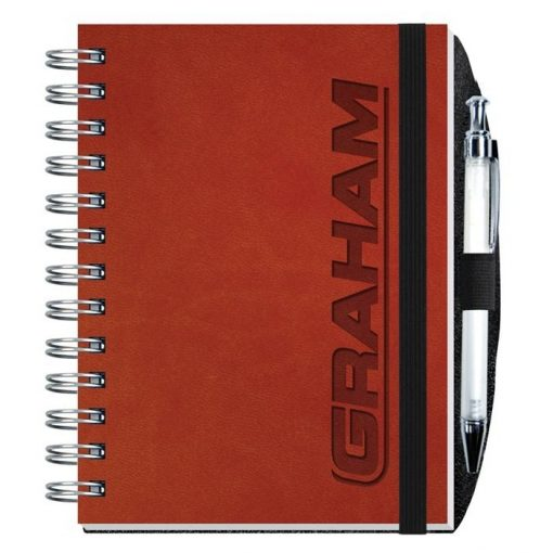 "Executive Journals w/50 Sheets & Pen (5"" x 7"")"