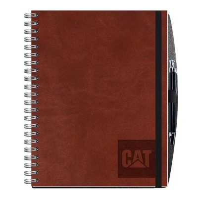 "Executive Journals w/50 Sheets & Pen (8 1/2"" x 11"")"