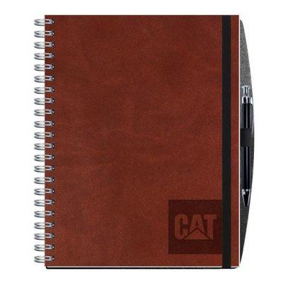 "Executive Journals w/50 Sheets & Pen (8 1/2"" x 11"")"