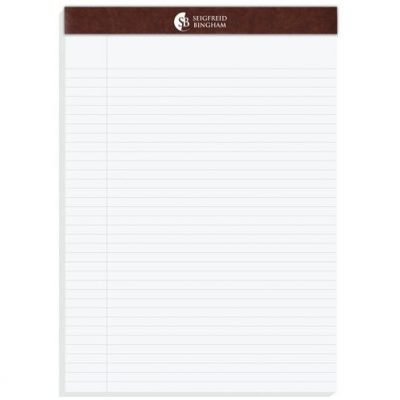 "Executive Legal Pads (8 1/2"" x 11 3/4"")"