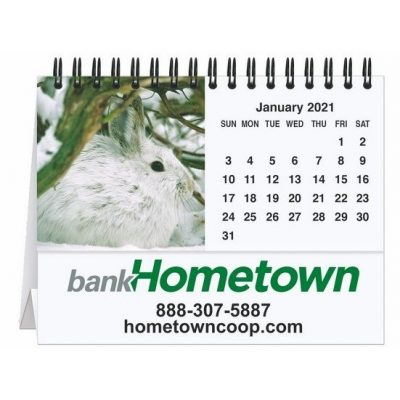 "Fauna Tent Desk Calendar (5 13/16"" x 4 1/2"")"