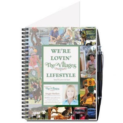 "Gallery Journals w/50 Sheets & Pen (6 1/2"" x 8 1/2"")"