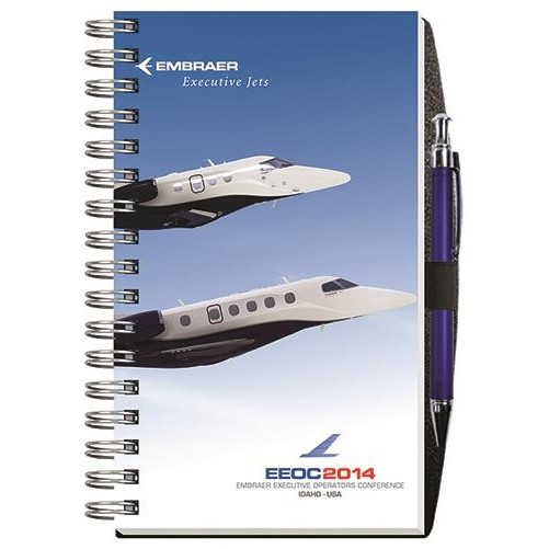 """Gloss Cover Journals w/100 Sheets & Pen (5 1/4"""" x 8 1/4"""")"""