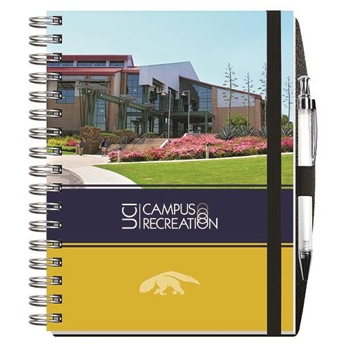 """Gloss Cover Journals w/100 Sheets & Pen (6 1/2"""" x 8 1/2"""")"""