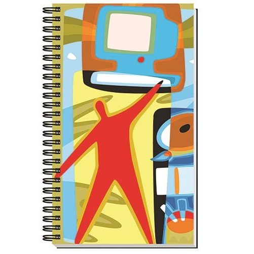 """Gloss Cover Journals w/50 Sheets (5 1/4"""" X 8 1/4"""")"""