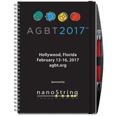 """Gloss Cover Journals w/50 Sheets & Pen (7"""" x 10"""")"""