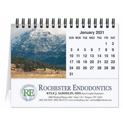 "Majestic Outdoors Tent Desk Calendar (5 13/16"" x 4 1/2"")"
