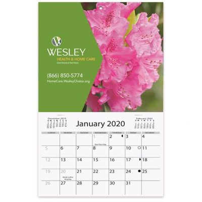 "Mini Wall Calendars w/1 Custom Photo/Imprint (6""x 9 7/8"")"