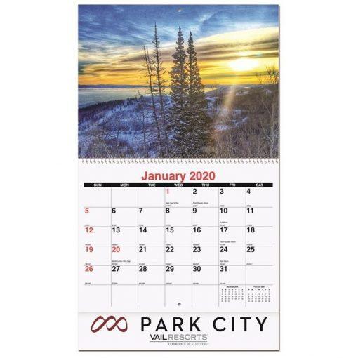 "Mini Wall Calendars w/13 Custom Photos (5 5/8"" x 9 7/8"")"