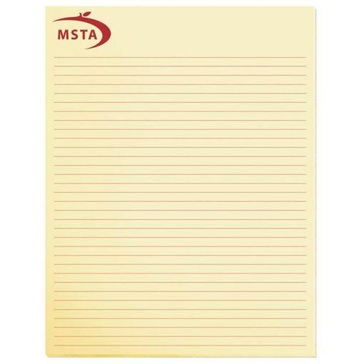 """Pastel Colors Scratch Pads w/ 25 Sheets (8 3/8"""" x 10 7/8"""")"""