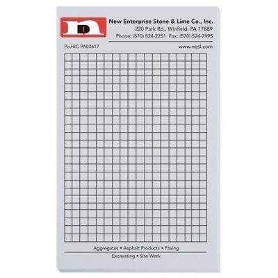 "Pastel Colors Scratch Pads w/ 50 Sheets (4 1/8"" x 6 3/4"")"