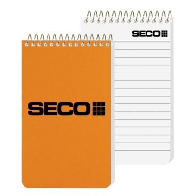 "Poly Pocket Coil Notebook (2 7/8"" x 4 3/4"")"