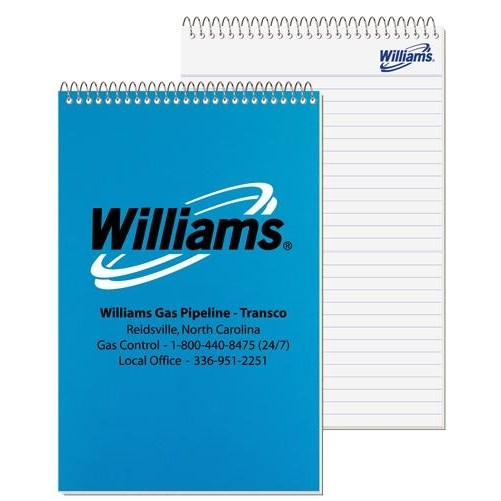 """Poly Stenographer Notebook (5 3/8"""" x 8 1/4"""")"""