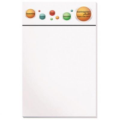 "Premium Full Color Scratch Pads w/ 25 Sheets (5"" x 8"")"