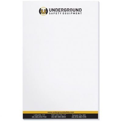"Scratch Pad w/ 25 Sheets (5 3/8"" x 8 3/8"")"