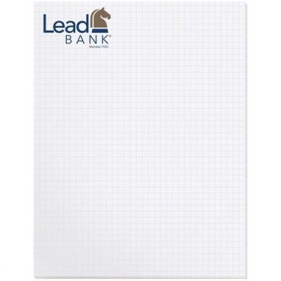 "Scratch Pad w/ 25 Sheets (8 3/8"" x 10 7/8"")"