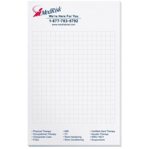 "Scratch Pad w/ 50 Sheets (5 3/8"" x 8 3/8"")"
