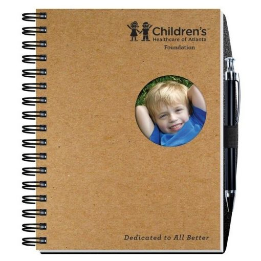 """Shadowbox Smooth Paperboard Journals w/100 Sheets & Pen (6 1/2"""" x 8 1/2"""")"""