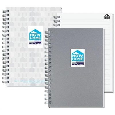 "Shadowbox Smooth Paperboard Journals w/100 Sheets & Pen (7"" x 10"")"