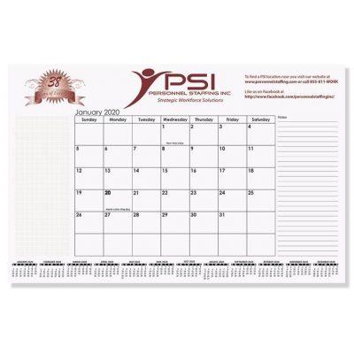 """Small Calendar Desk Pads (16 3/4"""" x 10 7/8"""")"""