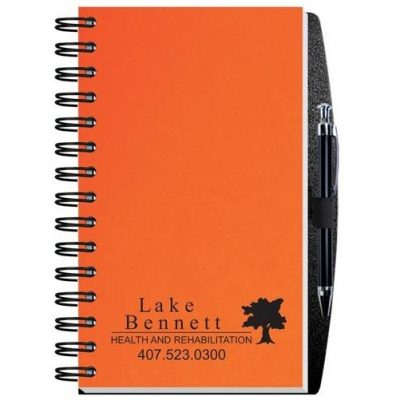"Time Managers Calendar w/Pen Safe Back Cover & Pen (5"" x 8"")"