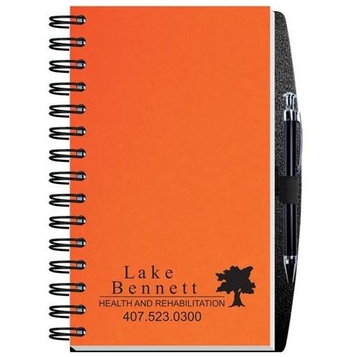 "Time Managers Calendar w/Pen Safe Back Cover & Pen (5"" x 8"")"