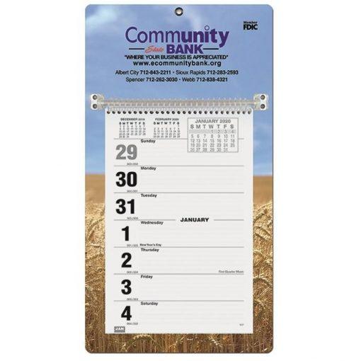 "Weekly Wall Calendars w/Sunday Start (7"" x 12 1/4"")"